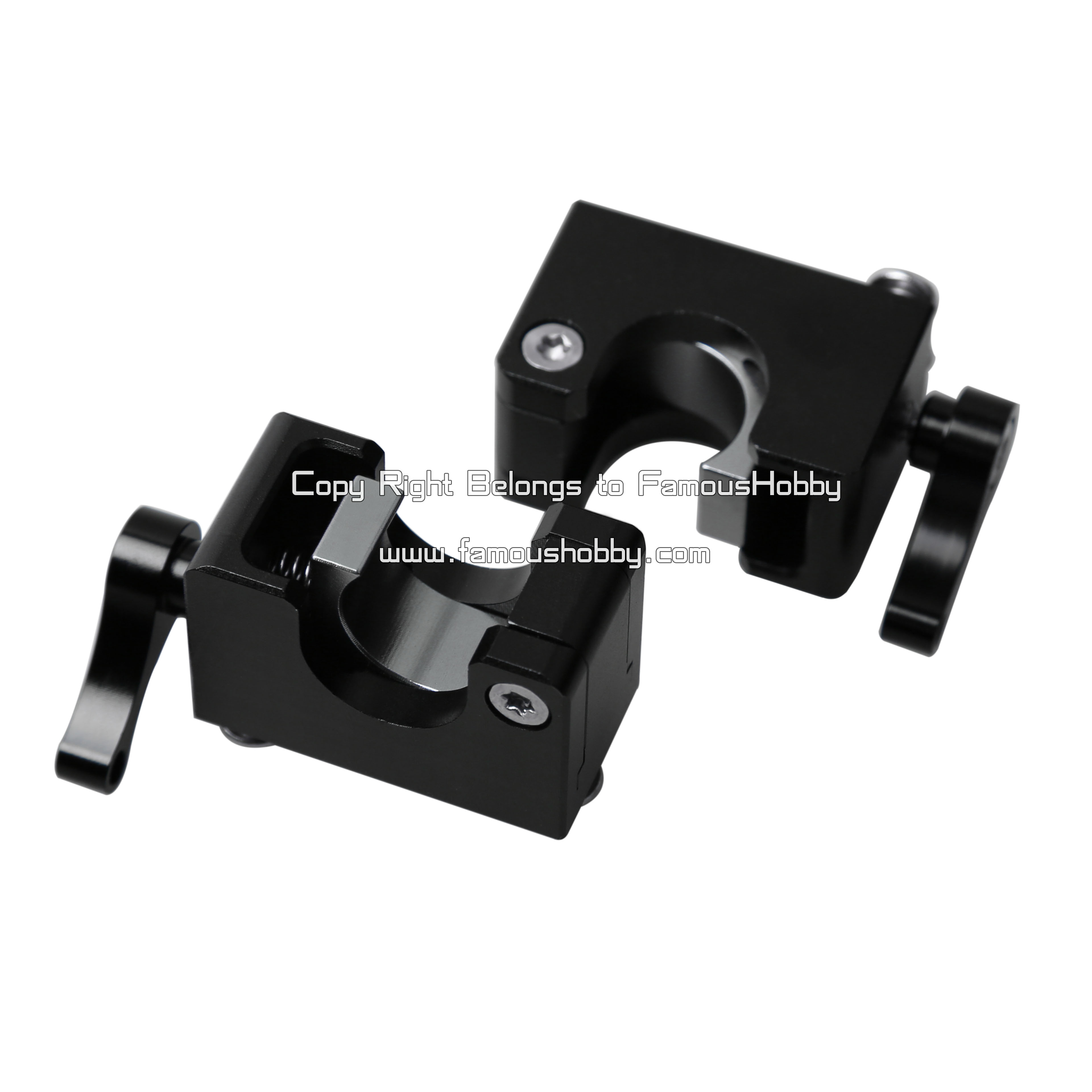 Discount China Wholesale FA020 15mm black anodized aluminum