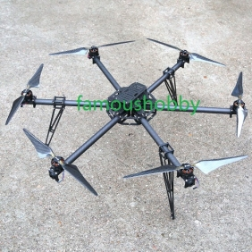 Wholesale H001 Free shipping by DHL/Fedex + 8-Axis /Octocopter frame kit(without motors)