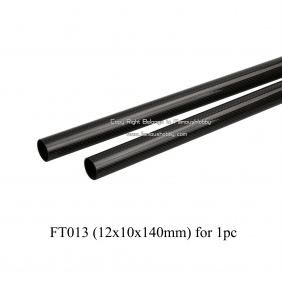 Wholesale FT013 12X10X140mm carbon glass fiber tube/pipes/square tube/flat/strip/rod 3K SURFACE/composite material for RC toy sports