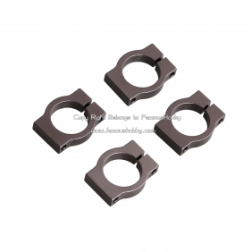 FU060 12mm removable aluminum tube clamps/clips for Aircraft, Quadcopter,4pcs/lot