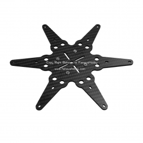 Wholesale CS057 updated 3mm thick--- Cinestar 6 /Hexacopter gimbal plate enhanced