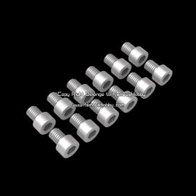 SCW002 M3X8mm stainless screw/ Cap head screw / 12pcs/pack
