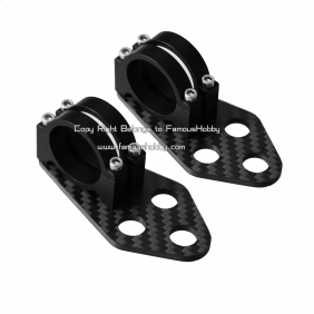 MV089 25mm New hung traction bracket for handle brushless gimbal for one pair