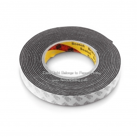 Wholesale ET013 3M double-sided adhesive waterproof shockproof/EVA/high temperature duct tape/Sponge Tape for 5m length