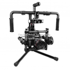 Wholesale BG003-Pro Famoushobby DSLR 3-axis Brushless Gimbal /Canon 5D handle camera gimbal /Camera Mount /Steadicam Pro System with 3pcs mo