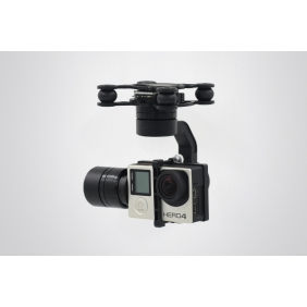 DYS 3 Axis BL Gopro Gimbal and with 360 Degree Unlimited Rotation