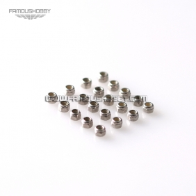 Wholesale FW009 RETAIL RC 6CH 3D helicopter Trex Align nuts-M2 screw nuts/20pcs