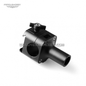 MV132 Quick release 25mm aluminum connector for upgrading Famoushobby gimbal to arm configuration/Camera Vest