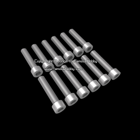 Wholesale SCW084 M3x22mm cap head screw/stainless screw ,12pcs/lot