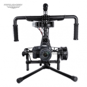 Wholesale BG005-MAX Famoushobby RED DSLR GIMBAL/3-axis Brushless Gimbal /handle/handheld camera gimbal /Camera Mount /Steadicam Pro System
