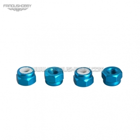Wholesale FSN011 M5 Aluminum Nylon Insert Lock Nuts for RC drones/ Multicopters,10pcs/lot