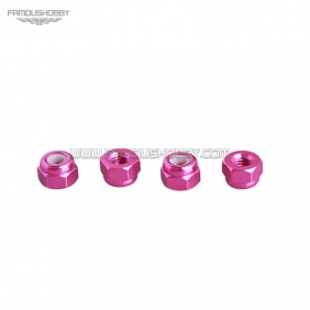 Wholesale FSN003 M3 CW / CCW  Aluminum Nylon Insert Lock Nuts for RC drones/ Multicopters,10pcs/lot