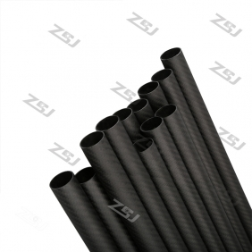 Wholesale FT033 Free shipping by DHL/Fedex 25X23X1000mm 100% carbon fiber tube 50pcs/lot