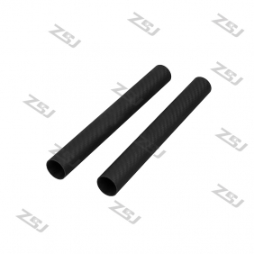 FT010 16x14x500mm 100% full carbon+ FREE shipping by HK post composite material /carbon Fiber tubes/pipes/strips