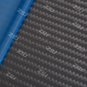 Wholesale FCRP004 400x500x1.0mm 100%/full/pure twill matte finished carbon fiber plate/panel/boars/sheet/rigid plate/3K twill matte surface
