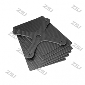 FCRP009 400x500x3.0mm 100%/full/pure twill matte finished carbon fiber plate/panel/boars/sheet/rigid plate/3K twill matte surface