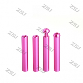 Wholesale M3x35mm Aluminum Standoffs and M3x8mm Round Head Screws, Free Rainbow Colors Round Head Standoffs