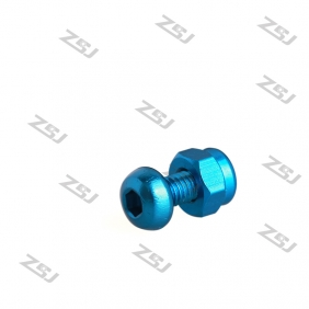 Wholesale M3 RC Drone Aluminum Fastener Kit!  30mm spacer,6mm bolts,self locking Nuts,20sets