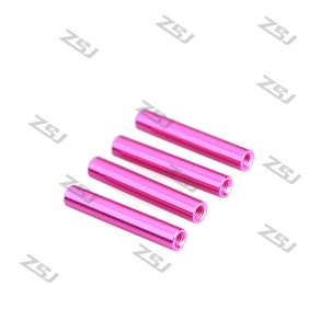 FSP024 M3x10mm Colored Round Aluminum Spacer/ Standoff for RC Frame Kit /Carbon Fiber Pillar,4pcs/lot