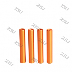 Wholesale FSP098 M3x6mm Colored Round Aluminum Spacer/ Standoff for RC Frame Kit /Carbon Fiber Pillar,4pcs/lot