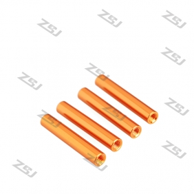 Wholesale FSP023 M3x8mm Colored Round Aluminum Spacer/ Standoff for RC Frame Kit /Carbon Fiber Pillar,4pcs/lot