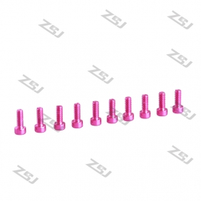 Wholesale M3x8mm Color Aluminum Cap Screw,Socket Bolts for RC Drone/Quadcopter,10pcs/lot