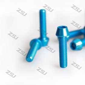 New M6x10mm color anodized aluminum tapered screw,10pcs/lot