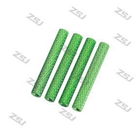 M3*30mm Knurled Standoff ,Color aluminum round Texture Spacer for FPV Drone Quadcopter,4pcs/lot