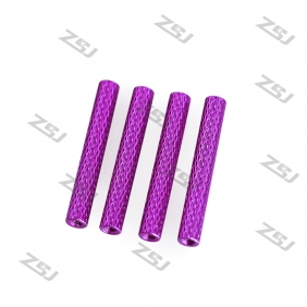 M3*20mm Color anodized Knurled Aluminum Standoff ,Texture Round Spacer for FPV Drone Quadcopter,4pcs/lot