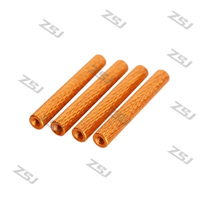 M3*25mm Knurled Standoff ,Color aluminum round Texture Spacer for FPV Drone Quadcopter,4pcs/lot