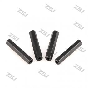 FSP011 M3x55mm aluminum hexhead spacer RC QuadCopter /frame Kit/carbon fiber/quadrotor,4 pcs/lot