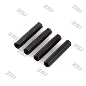 FSP012 M3x60mm aluminum hexhead spacer RC QuadCopter /frame Kit/carbon fiber/quadrotor,4 pcs/lot