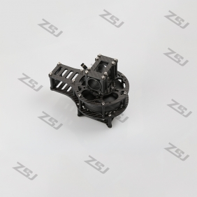 Wholesale MV024 Famoushobby 3 axis 4.0mm thick Customized Y/roll motor cage for 8017/8108/GB85 motor without motor