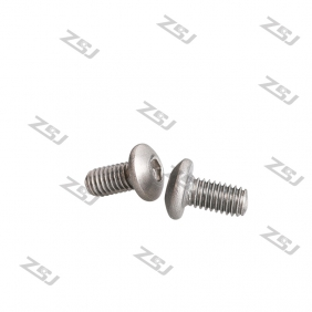 Wholesale TB008 M3X8mm Titanium Screw/ Whole Thread Bolt/ Hex Button Head Titanium Screw/ Bike Fastening Allen Titanium Screw,10 pcs/pack