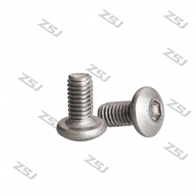 Wholesale TB007 M3X10 Titanium Screw/ Whole Thread Bolt/ Hex Button Head Titanium Screw/ Bike Fastening Allen Titanium Screw,10 pcs/pack