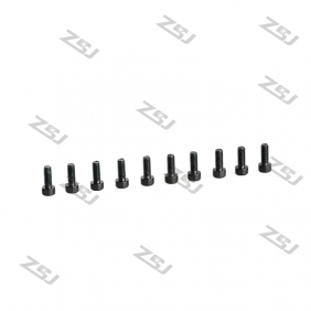 Wholesale M3X14MM  Black Color Hex head Socket Aluminum Bolts,Cap head aluminum screws for Drone/Quadcopters,10pcs/lot