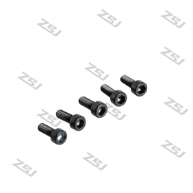 Wholesale Black M3X12MM  Socket Aluminum Bolts,hex cap head aluminum screws for RC Drone / Quadcopters,10pcs/lot