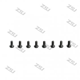 Wholesale Black M3X10MM  Aluminum Botton Bolts,Round Head aluminum screws for RC Drone / Quadcopters,10pcs/lot2