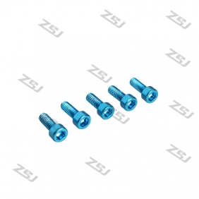 M3X20M  Blue color Socket Aluminum Bolts,cap head aluminum screws for RC Drone / Quadcopters,10pcs/lot