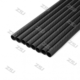 FT044 Famoushobby 15x13x220mm 100% full carbon fiber tube/pipes/strips   2 pcs /lot