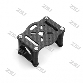 CS054 Famoushobby  motor mount A with plastic clamps for 25mm tube for Octocopter