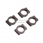 Wholesale FU060 12mm removable aluminum tube clamps/clips for Aircraft, Qu